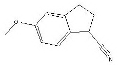 5-methoxy-2,3-dihydro-1H-indene-1-carbonitrile