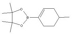 4,4,5,5-tetramethyl-2-(4-methylcyclohex-1-enyl)-1,3,2-dioxaborolane