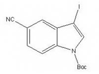 tert-butyl 5-cyano-3-iodo-1H-indole-1-carboxylate