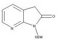 1-((2-(trimethylsilyl)ethoxy)methyl)-1H-pyrrolo[2,3-b]pyridin-2(3H)-one