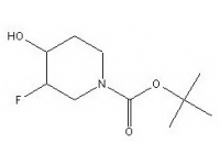 tert-butyl 3-fluoro-4-hydroxypiperidine-1-carboxylate
